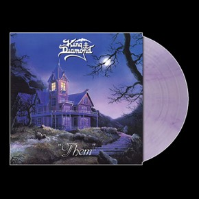 KING DIAMOND - Them LP (Clear Lavender Marbled)