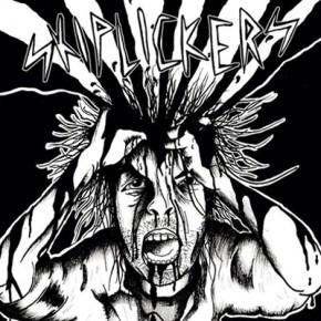 KRIGSKONTRAST / SKIPLICKERS - Split EP