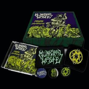 MUNICIPAL WASTE Massive Aggressive CD Box