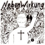 NEBENWIRKUNG - Fick Den Papst EP (Side A / Side B Effect: Bloodred / Bone, Golden Extra Cover)