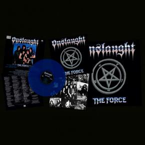 ONSLAUGHT - The Force LP (Transparent Royal Blue)