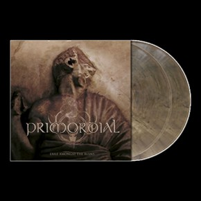 PRIMORDIAL - Exile Amongst The Ruins 2 x LP (Clear / Gray - Brown Marbled)