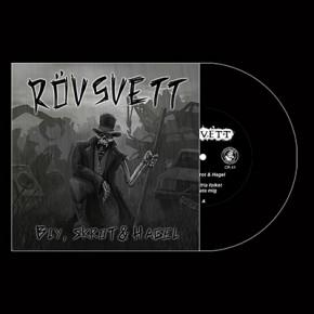 """RÖVSVETT - Bly, Skrot & Hagel 7"""" (Black)"""