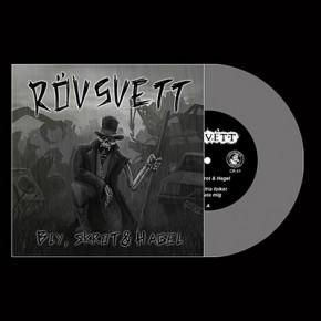 """RÖVSVETT - Bly, Skrot & Hagel 7"""" (Grey)"""