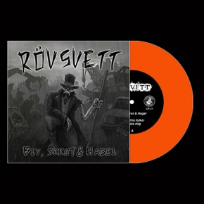 "RÖVSVETT - Bly, Skrot & Hagel 7"" (Orange)"