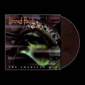 SACRED REICH - The American Way LP (Dark Purple Violet Marbled)