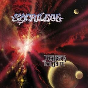 SACRILEGE - Turn Back Trilobite LP (Transparent Red)