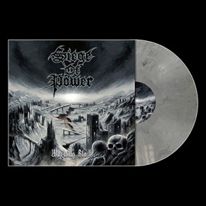 SIEGE OF POWER - Warning Blast LP (Cool Grey Marbled)