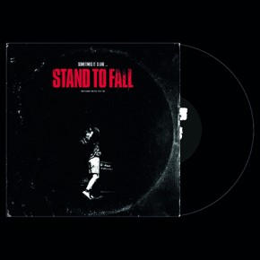 TARGET OF DEMAND / STAND TO FALL - Split LP (Black)