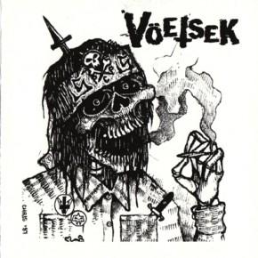 "UNHOLY GRAVE / VÖETSEK - Split 5"""
