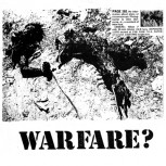 UPSET NOISE / WARFARE ? - Split EP (Black)