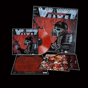 VOIVOD - War And Pain LP (Transparent Red / Black Marbled)