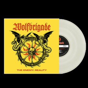 WOLFBRIGADE - The Enemy: Reality LP (Cloudy Clear)